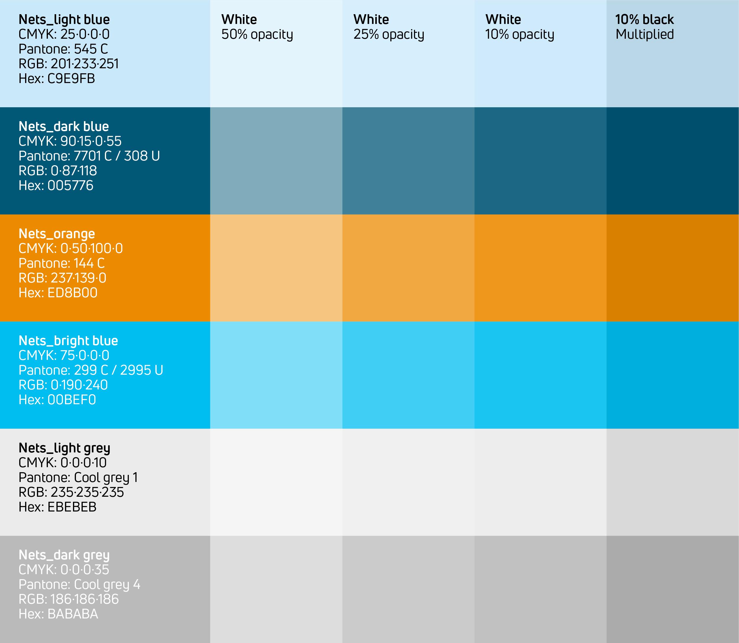 Colours Colours