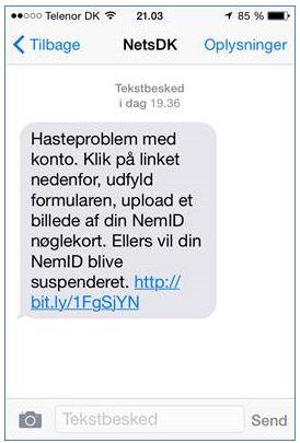 nets dk sms
